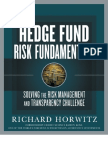 Bloomberg.hedge Fund Risk Fundamentals - Solving the Risk Management and Transparency Challenge