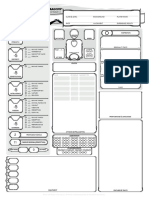 Character Sheet 5e