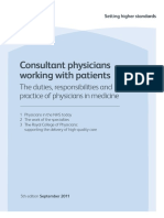 RCP Consultant Physicians Working With Patients