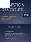 Gestion Couts