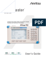 Anritsu MT8212A User Guide
