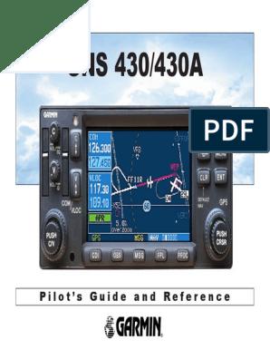 Garmin 430 Pilot Guide | Global Positioning System
