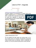 Part 2 Como Calcular La CTS