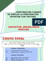 Costo de Perforación en Perforación Rotativa Con Tricono