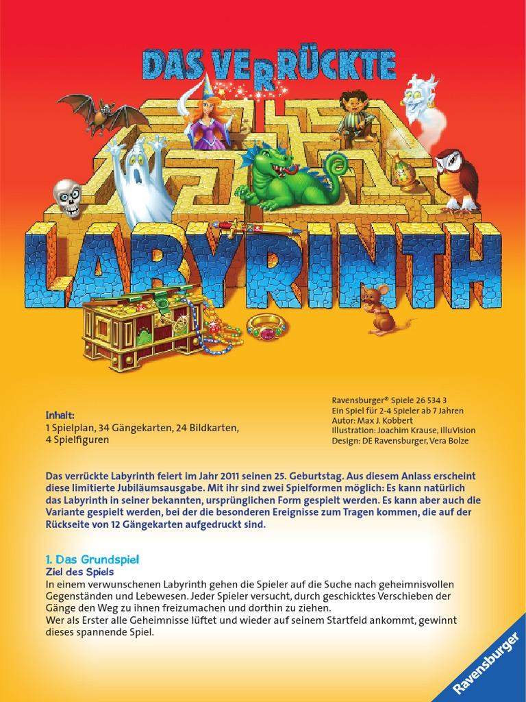 Anleitung Das VerrГјckte Labyrinth