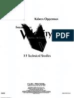 Intermediate Velocity Studies - Kalmen Opperman
