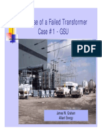 The Case of Failed Transformer