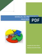 Manual Procesos Procedimientos