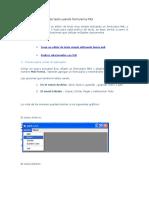 Ejemplo de Un Editor de Texto Usando Formularios MDI