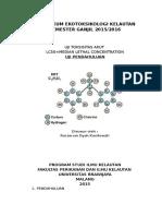 Panduan Praktikum Ekotoksik 2015