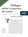 Diálogos sobre a natureza do teatro