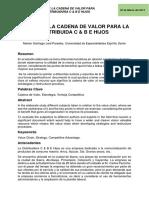 Paper Cadena de Valor - Dirección de Producción y Operaciones