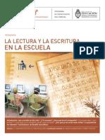 PEDAG03 La Lectura y La Escritura en La Escuela