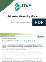 WAFLER 2010 Rainwater Harvesting Rural_1.ppt