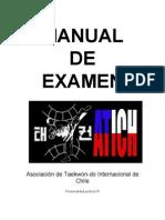 Manual de Examen