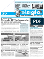 Edición Impresa Elsiglo 20-12-2015
