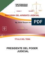 2. Presidente Del Poder Judicial