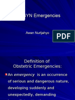 Kuliah Obgyn Emergency