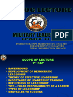 Capt Respicio Lecture