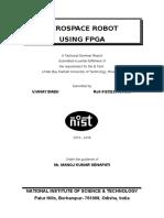 Design of  Aerospace Robot using FPGA