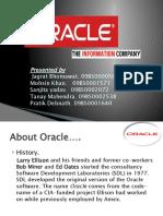 Hrm f Oracle