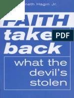 Faith Takes Back What the Devil's Stolen - Hagin