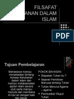 TEMA 1 FILSAFAT KETUHANAN DALAM ISLAM.ppt