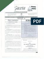 Ley Sistema Financiero DECRETO 129 2004