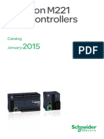 Modicon_M221_eng CATALOG 2015