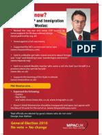 Phil Woolas Leaflet