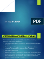 9. Drainase Sistem Polder