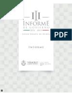 III Informe de Gobierno Veracruz