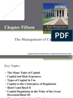 The Management of capital