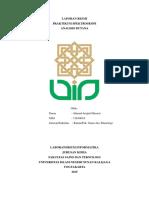 Laporan Butana Ahmad 13630019