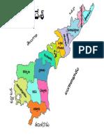 1  andhra pradesh political map telugu