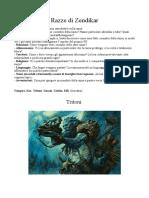 Razze Di Zendikar - D&D 3.5