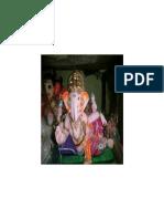 Vinayagar in Slanting Position