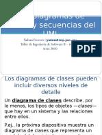 UML Diagramas de clases y de secuencia