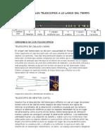 EVOLUCIÓN DE LOS TELESCOPIOS A LO LARGO DEL TIEMPO.docx
