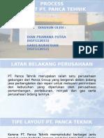 Tata Letak Mesin Produksi Dan Process Layout PT. Panca Teknik