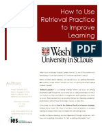 Retrieval Practice Guide