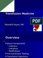 Transfusion Medicine