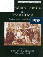 The Indian Family in Transition