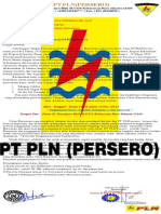 Surat Undangan Recruitment PT.pln (PERSERO)-JKT