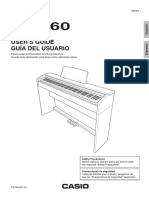 Casio Privia PX 760 Manual
