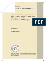 Size of govt expenditure multipliers for India RBI WP07180913F.pdf