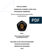 Terapi Rehidrasi Oral