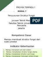 Penyusunan Struktur Fungsi