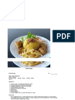 Nasi Kuning – Indonesian Yellow Rice Dish Recipe