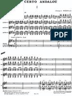 Concierto Andaluz Per Quattro Chitarre e Orchestra